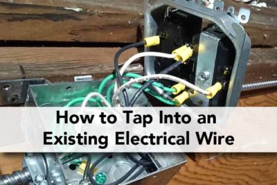 How to Tap Into an Electrical Wire Outlet