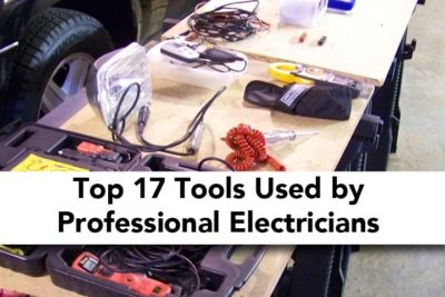 Top 17 Tools Used by Professional Electricians - Project Home Work